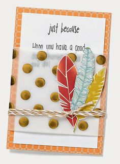 Free to Be Me: Just Because Card