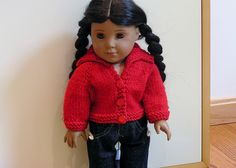 Red Shawl Cardigan by pennytennermann, via Flickr