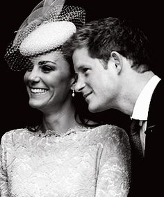 """Kate is like the sister I never had"" - Her Royal Highness The Duchess of Cambridge with Prince Harry"