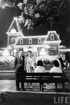 Prom Night at Disneyland!  Early '60's