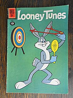 Bugs Bunny Looney Tunes  April, 1961   #234. Click on the image for more information.
