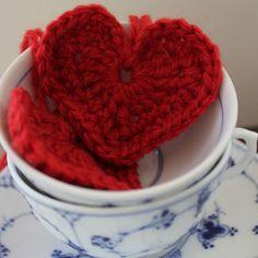 Valentines Heart Crochet Tutorial
