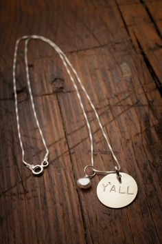 Y'all Necklace from Robinson Lane and Bourbon & Boots