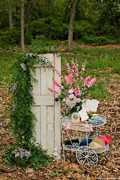 Enchanted wedding decorations
