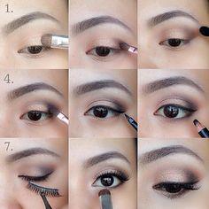 makeup tutorials, school makeup, eye makeup, eyeshadow, makeup ideas, beauti, chopper, beauty, light