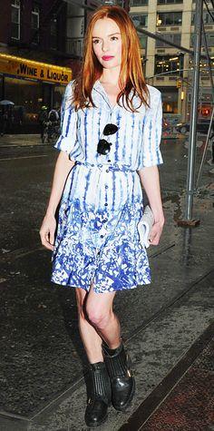 Kate Bosworth in Peter Som x Kohl's