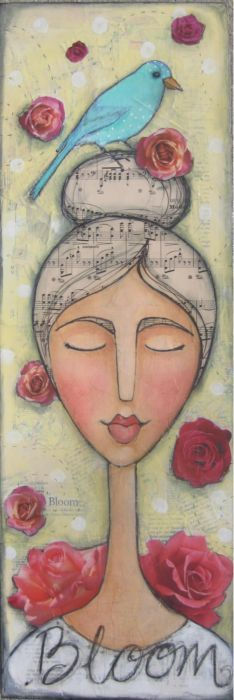 modigliani, music, vintag sister, inspiration, dreams, art journals, mix media, sister studio, new art