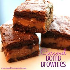 Brownies stuffed wit