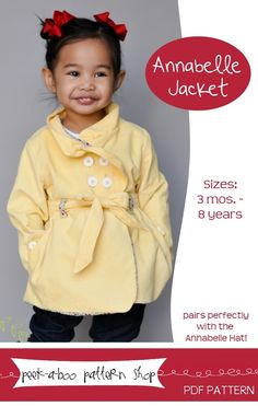 Image of Annabelle Jacket: 3 mos. - 8 years