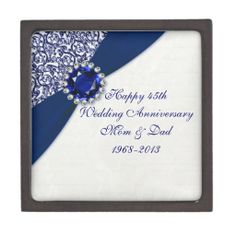 Wedding Gifts For 45th Anniversary : 45th Wedding Anniversary on Pinterest Wedding Anniversary ...