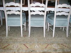 Skirted DR Chairs