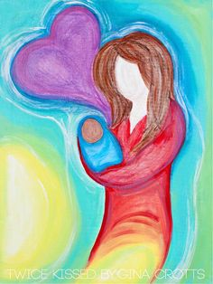 A MOTHER'S LOVE adoption art print 8x10 by TwiceKissed on Etsy, $8.00