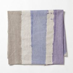 Hand-Painted Linen Tablecloth | Terrain