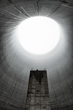 Abandoned Places, Abandoned Cooling Tower, Abandoned Building