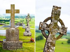 Celtic crosses, Rock of Cashel, Ireland