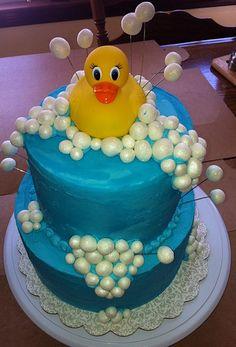Baby Shower Duck cake