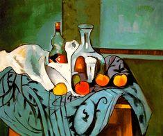 Cezanne, Still Life Peppermint Bottle