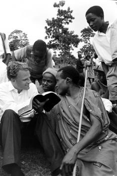 Billy Graham, 1960, Tanzania
