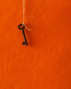 Orange Wall and Key