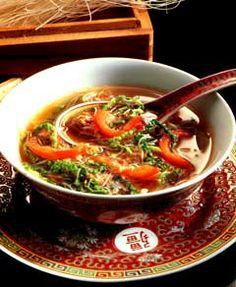 sopa picante