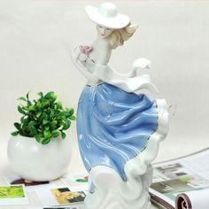 Ceramic Girl Figurine