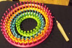 Loom Knitting website