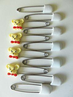 Vintage diaper pins.