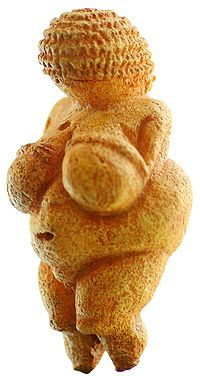 Venus of Willendorf, circa 24,000-22,000 BC.