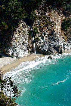 McWay Falls, Julia Pfeiffer Burns State Park, Big Sur, California