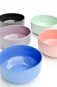 Matte Porcelain Bowl