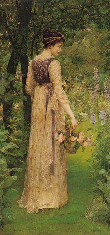 """Mary E. Harding (British, 1880-1903), """"Delphinia"""""""