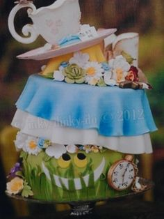 Top Alice in Wonderland Cakes - Top Cakes - Cake Central