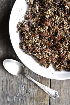 Chocolate Granola- loving earth