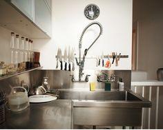 Restaurant Dish Sprayer : Restaurant Kitchen on Pinterest Restaurant Kitchen Design, Open Kit ...