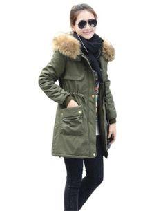 iLoveSIA Womens Military Coat Parka H... $24.94 #bestseller