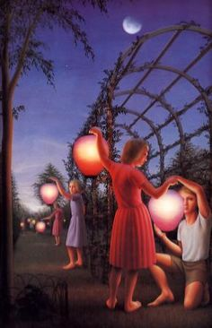 'Garden Party' by George Tooker