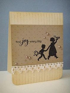 Tone-on-tone stamping card - 2