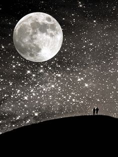 The moon and stars fascinate me...