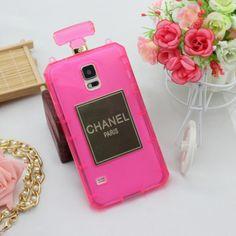 Pink Samsung Perfume Case