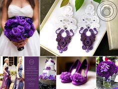 violet wedding... dreamy...