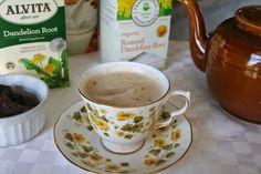 Dandelion Tea Latte and Detox