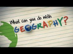 What can you do with geography intro (first week?)