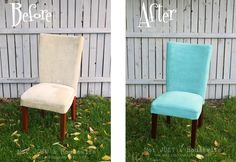 painting fabric...much cheaper than re-upholstering!!