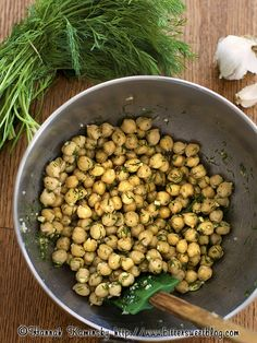 Dill Pickle Chickpea Crunchies by Hannah Kaminsky of BitterSweet