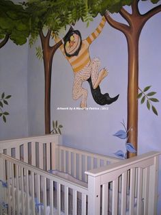 Where the Wild Things Are Nursery...Love the idea of a book themed room