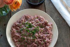 red wine mascarpone risotto