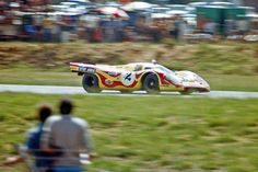 1970 KYALAMI 9 HR  Kurt shared this beautiful MARTINI RACING Porsche 917 with Jo SIFFERT in South Africa.  They finished second behind Jacky Ickx' Ferrari.