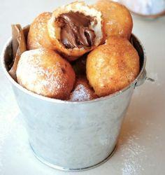 nutella donut holes