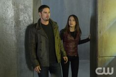 "Beauty and the Beast -- ""Catch Me If You Can"" - Pictured (L-R): Jay Ryan as Vincent and Kristin Kreuk as Catherine — Photo: Christos Kalohoridis/The CW -- © 2014 The CW Network, LLC. All rights reserved."