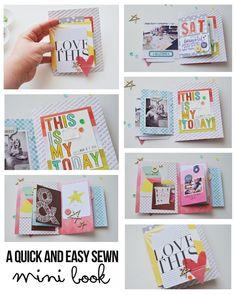 Mini book tutorial